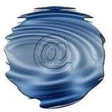 e-posttecken vektor illustrationer