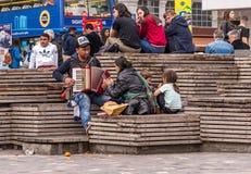 Музыканты улицы стоковые фото