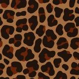 豹子无缝的样式 库存例证