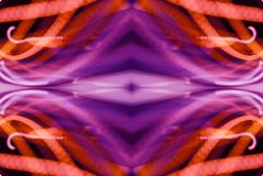 桃红色抽象样式 库存照片