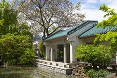 E Сад Сунь Ятсен классический китайский стоковые фото