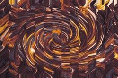 E r Arte oscuro de los movimientos de la pintura stock de ilustración
