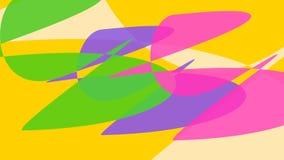 Kontrakttecknade bilder Fantasy, färgpunkter i rörelse Dynamiskt substrat vektor illustrationer