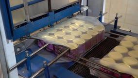 E r Livsmedelsindustri transportör Produktionslinje Mat lager videofilmer