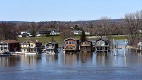 Severe flooding on the Ottawa River