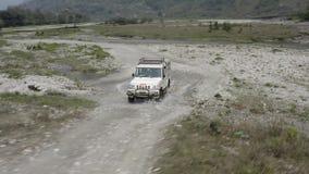 Непал Движение вдоль реки Видеозапись с воздуха акции видеоматериалы