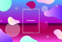 E r Synthwave Vaporwave Retrowave ?? 向量例证