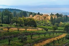 E r tuscany L'Italia fotografie stock