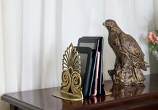 E Readers between Bookends Stock Photography
