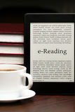 E-Reading pleasure Stock Images
