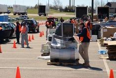 E-riciclaggio dell'evento, Ann Arbor MI immagine stock