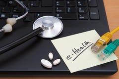 e-salute Fotografie Stock Libere da Diritti