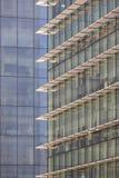 E Samtida arkitektur stads- horisont royaltyfria foton