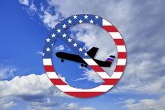 E Sanctions des Etats-Unis contre la Russie r r illustration libre de droits