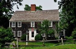 E.Sandwich, MA: 1678 Benjamin Nye Homestead Royalty Free Stock Photos