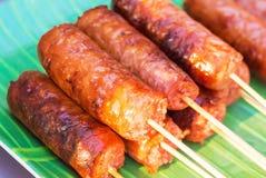 E-sarn sausage Stock Images