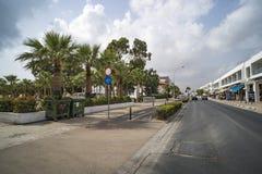 E seaview för napa för ayiafrukostcyprus hotell cyprus arkivfoto