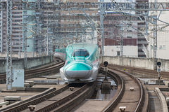 E5 Series bullet (High-speed or Shinkansen) train. Stock Photography