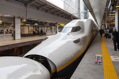 E4 Series bullet (High-speed or Shinkansen) train. Royalty Free Stock Photography