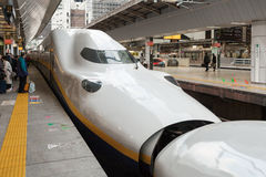E4 Series bullet (High-speed or Shinkansen) train. Stock Photography