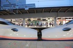 The E2 Series bullet  train Stock Photos