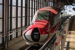 E6 serii pociska pociąg zamyka nos pokrywę Obraz Royalty Free