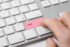 E-shop sale Stock Photos