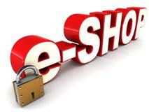 E shop Stock Photography