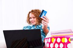 E-shopping Stock Image