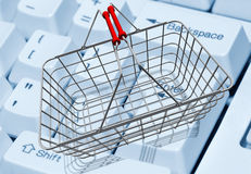 E-shopping Royalty Free Stock Image