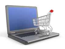 E-shopping concept Royalty Free Stock Images