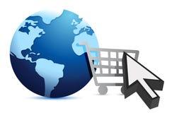 E-shopping - Concept Stock Image