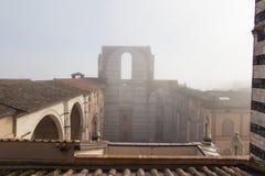 E Siena Toscanië Italië Stock Foto's