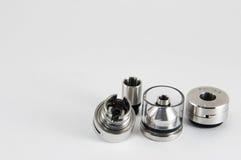 E-sigaretta RDA, atomizzatore rebuildable di RTA Fotografia Stock Libera da Diritti