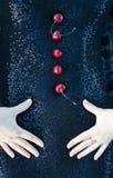 Żeńska czerni suknia Obraz Stock