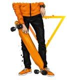 E Skateboard r στοκ φωτογραφίες