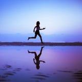 Żeński biegacz Zdjęcie Stock