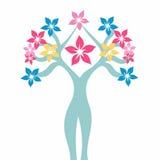 Żeński kwiat Zdjęcia Stock