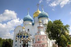 E St. Sergius Lavra der Heiligen Dreifaltigkeit lizenzfreie stockfotografie