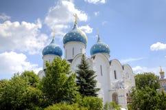 E St. Sergius Lavra der Heiligen Dreifaltigkeit stockfotos