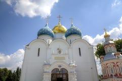 E St. Sergius Lavra der Heiligen Dreifaltigkeit lizenzfreie stockbilder