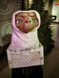 E.T. the Extra-Terrestrial in wax Stock Images