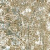 抽象花卉元素纸拼贴画 手拉传染媒介的例证 E 皇族释放例证