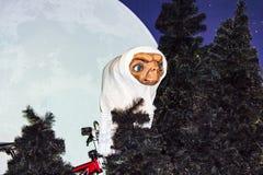 E T statua della cera, Amsterdam di signora Tussaud fotografia stock libera da diritti