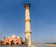 E taj mahal Agra, Uttar Pradesh obraz royalty free