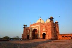 E taj mahal Agra, Uttar Pradesh indu Obraz Royalty Free