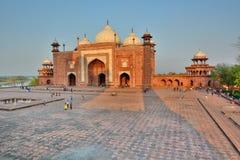 E taj mahal Agra, Uttar Pradesh indu Obrazy Stock