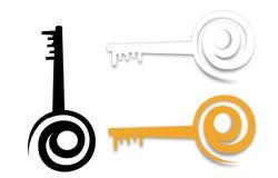 E- Taste für das Freisetzen der Internet-Umdrehung Lizenzfreies Stockbild
