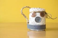 E taza para la cerveza handmade imágenes de archivo libres de regalías