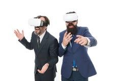 E Tecnologias de Digitas Inova??o do neg?cio Apresenta??o de VR r imagens de stock royalty free